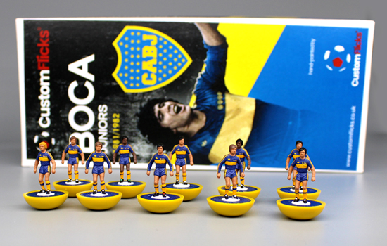 Boca Juniors Subbuteo Team