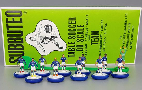 Everton Subbuteo Team