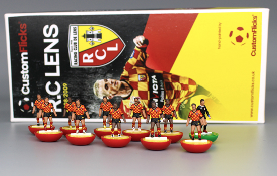 RC Lens Subbuteo Team