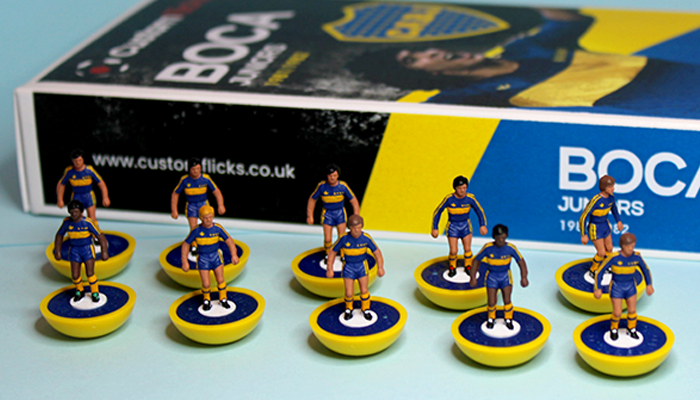 Boca Juniors Subbuteo Football Team